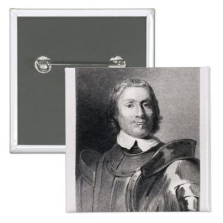 Oliver Cromwell , Lord Protector of England Button
