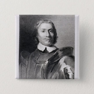 Oliver Cromwell , Lord Protector of England Pinback Button