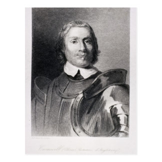 Oliver Cromwell , Lord Protector of England Postcard