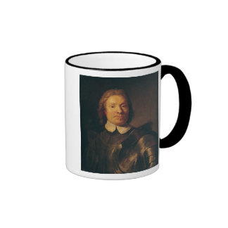 Oliver Cromwell Ringer Coffee Mug