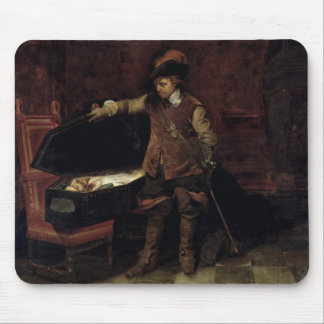Oliver Cromwell  Opening the Coffin of Charles Mouse Pad