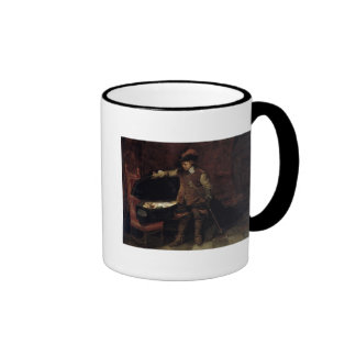 Oliver Cromwell  Opening the Coffin of Charles Ringer Coffee Mug