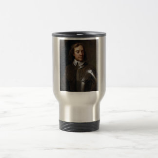 Oliver Cromwell Painting 15 Oz Stainless Steel Travel Mug
