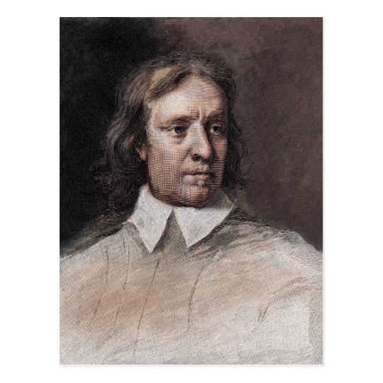 Oliver Cromwell Portrait Postcard
