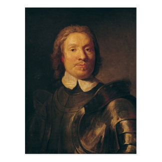 Oliver Cromwell Postcard