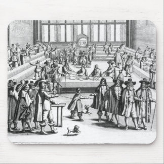 Oliver Cromwell que disuelve al parlamento Alfombrilla De Ratones