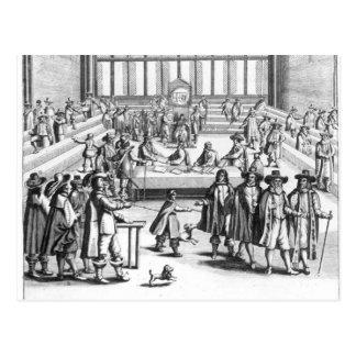 Oliver Cromwell que disuelve al parlamento Tarjeta Postal