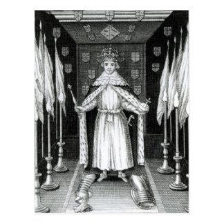 Oliver Cromwell que se coloca en estado; Postales
