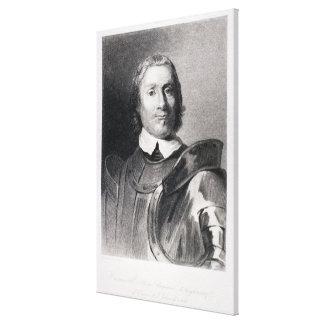 Oliver Cromwell, señor Protector de Inglaterra Lienzo Envuelto Para Galerías