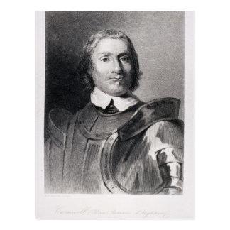 Oliver Cromwell, señor Protector de Inglaterra Tarjeta Postal