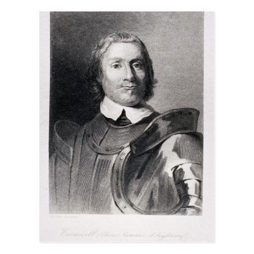 Oliver Cromwell, señor Protector de Inglaterra Postal