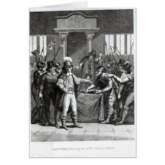 Oliver Cromwell Tarjeta De Felicitación