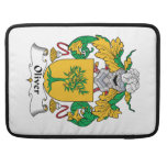 Oliver Family Crest Sleeves For MacBook Pro