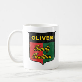 Oliver family tradition coffee mug