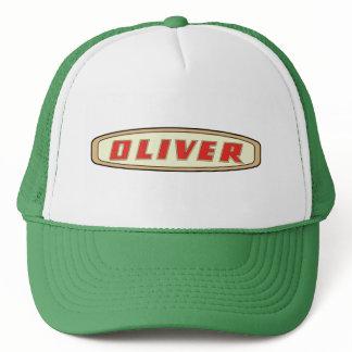 Oliver Farm Garden tractor Mens farmer Logo Hat