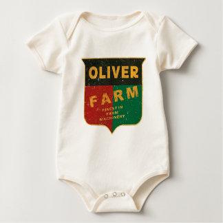 Oliver Farming Baby Bodysuit