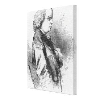 Oliver Goldsmith Canvas Print