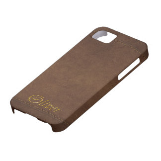 OLIVER Leather-look Customised Phone Case