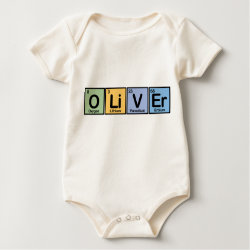 Infant Organic Creeper with Oliver made of Elements design