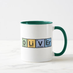 Combo Mug with Oliver made of Elements design
