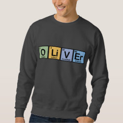 Men's Basic Sweatshirt with Oliver made of Elements design