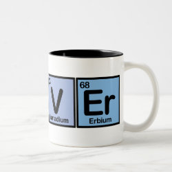 Two-Tone Mug with Oliver made of Elements design