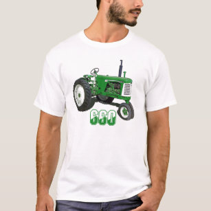 crop rows farm gifts on zazzle 1957 660 Oliver Tractor oliver model 660 t shirt