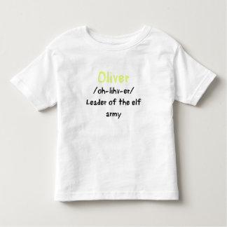 Oliver Name Definition Shirt