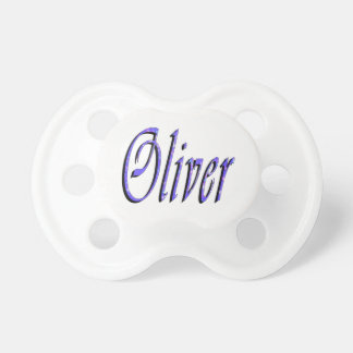 Oliver, Name, Logo, Baby's 6 months Plus Pacifier