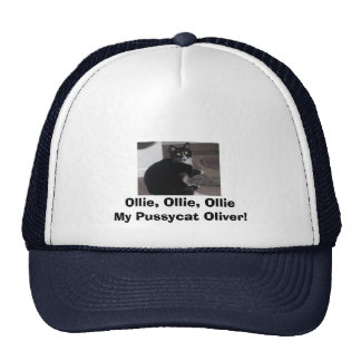oliver, Ollie, Ollie, Ollie My Pussycat Oliver! Hat