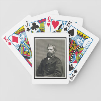 Oliver Otis Howard (1830-1909), engraved by Robert Bicycle Playing Cards