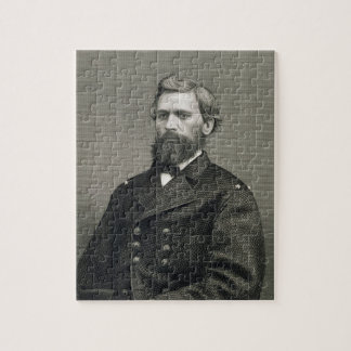 Oliver Otis Howard (1830-1909), engraved by Robert Jigsaw Puzzle