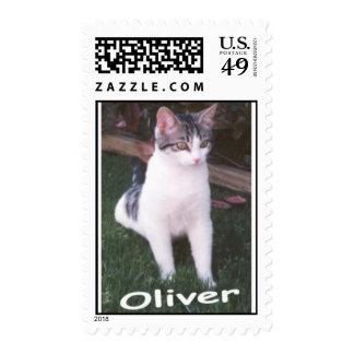 oliver postage stamp