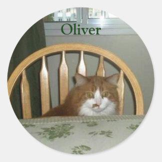 OLIVER STICKER
