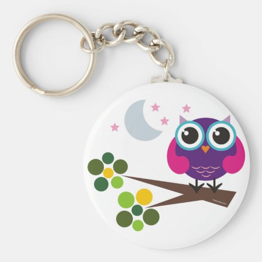 oliver, the owl key chains