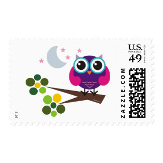 oliver, the owl postage