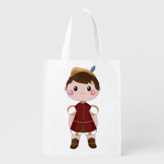 Oliver the prince bolsas de la compra