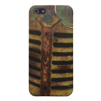 Oliver Tractor Grill iPhone Case iPhone 5/5S Cases