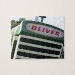 "Oliver tractor puzzle unique gift ideas<br><div class=""desc"">Oliver tractor puzzle unique gift ideas.</div>"
