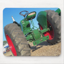 Oliver tractor vintage style used for pulling mouse pad