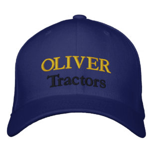 f85c1fd0b5d0d Oliver Tractors Lawnmowers Mowers Antique Farm Embroidered Baseball Hat