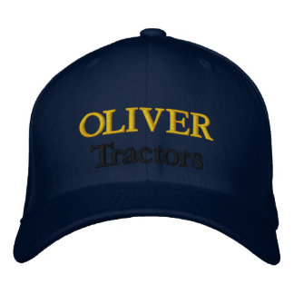 Oliver Tractors Lawnmowers Mowers Husky Design Embroidered Baseball Cap