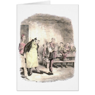 Oliver Twist Asks for More Greeting Card