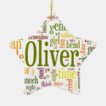 Oliver Twist Ceramic Ornament