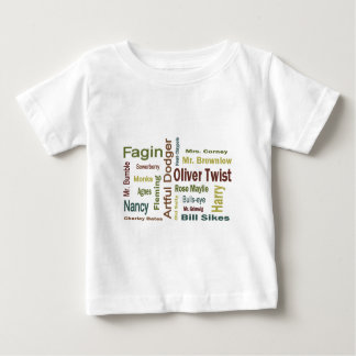 Oliver Twist Characters Baby T-Shirt