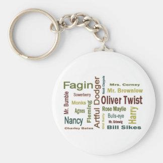 Oliver Twist Characters Keychain