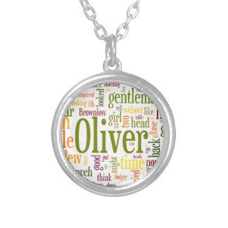 Oliver Twist Round Pendant Necklace