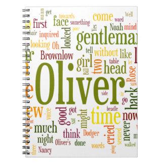 Oliver Twist Spiral Notebooks