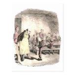 Oliver Twist pide más Tarjetas Postales