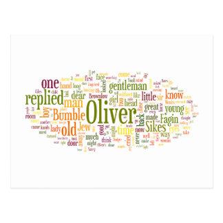 Oliver Twist Postcard